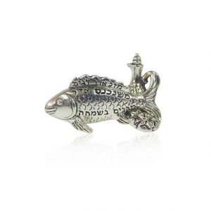 26625_sterling_silver_plated_purim_fish_miniature_view_1